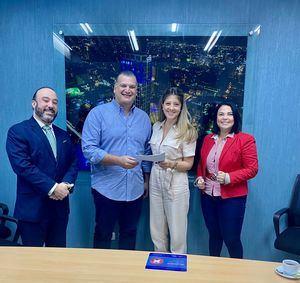 Francisco Campos, Aldo Bonarelli, Patricia Ramela y Yexenia Jiménez