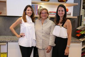 Montserrat Casado, Angely Varela y Renee Rood