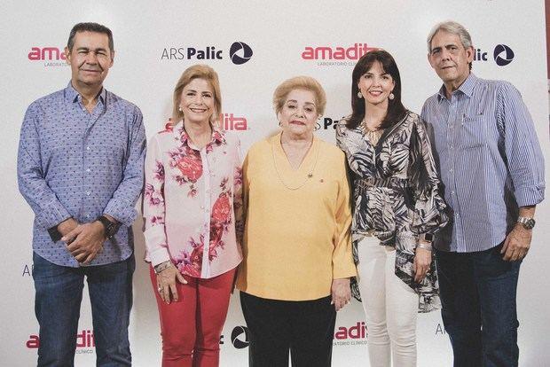 Jaime Herrera, Patricia González de Bergés, Amada Pittaluga de González, Mirla Estévez, Paul Martinez