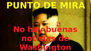 No hay buenas noticias de Washington.
