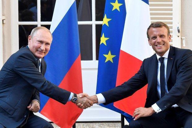 Macron acerca posturas con Putin a una semana del G7