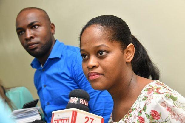 Yudis Alcántaray Simón López padres de las siamesas nacidas el 27 de mayo 2019, en República Dominicana.
