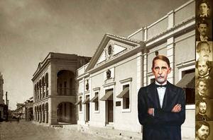 Palacio de Borgellá y teatro de Juan Pablo Duarte.