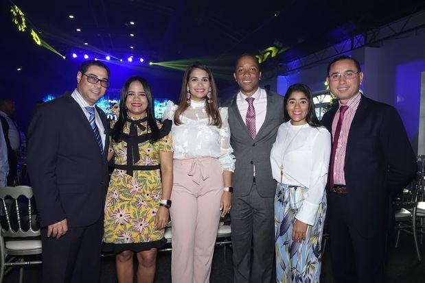 César Sosa, Damaris Sánchez, Lucidania Fernández, César Cruz, Nora Rodríguez, Elpidio García.