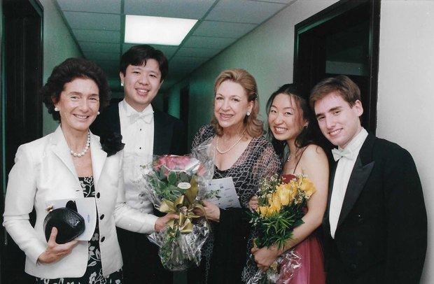Paloma O´Shea, Margarita Copello y Ganadores Santander