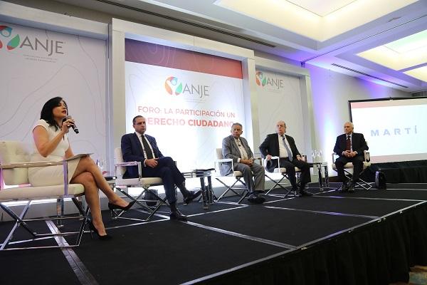 Foro de ANJE resalta importancia de impulsar la democracia participativa