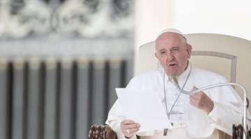 Papa Francisco: Armas nucleares son una grave amenaza para el género humano