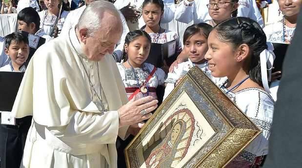 Niños de México cantan al Papa Francisco y comparten su dolor por terremoto