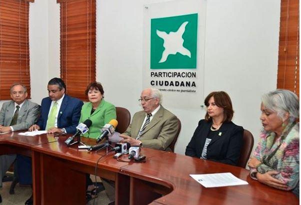 Representantes de Participación Ciudadana.