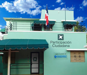 Fachada de edificio Participación Ciudadana.