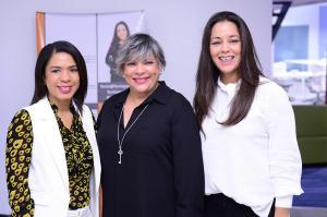 Patricia Sena, Ana Teresa Battle y Fénix Pérez
