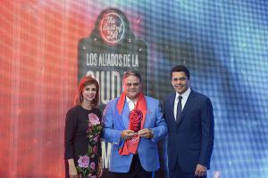 Patricia de Moya, Raul Rizik Yeb y David Collado