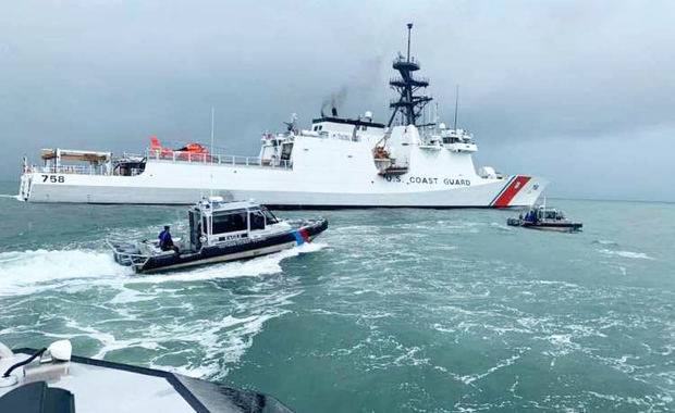 Guyana y EE.UU. interceptan embarcación con drogas al sur de R.Dominicana.
