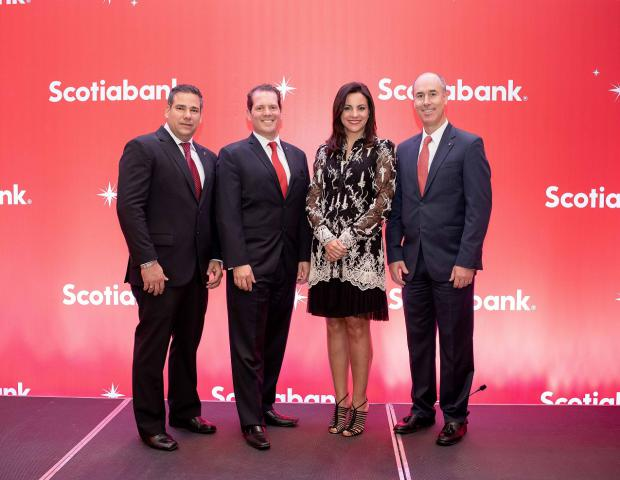 Scotiabank agasaja a sus clientes de diferentes provincias del país