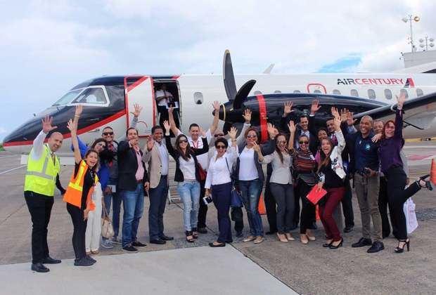 Air Century anuncia vuelo directo entre Santiago y San Juan, Puerto Rico