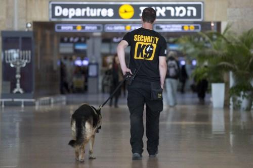 Agente de la policía egipcia.