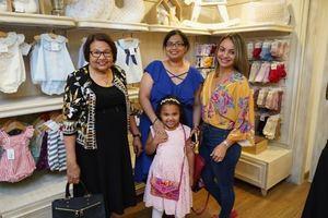 Lesbia Madera, Nelly Escotto, Keren Constanza y Ginete De Peña.