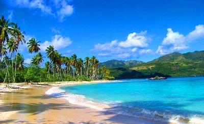 Playa Rincón en Samaná.