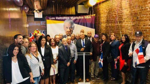 Peledeistas en Nueva York apoyan a Gonzalo Castillo