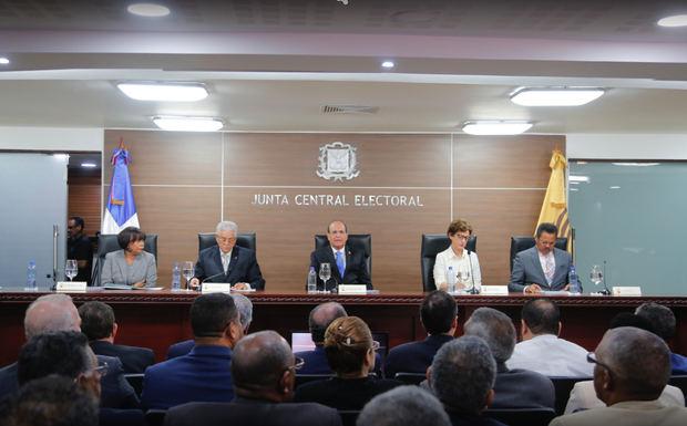 JCE: quedan conformadas las 158 juntas electorales para elecciones de 2020