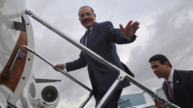 Danilo Medina, presidente de la República Dominicana.