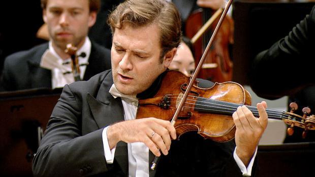 Renaud Capuçon, violinista francés.
