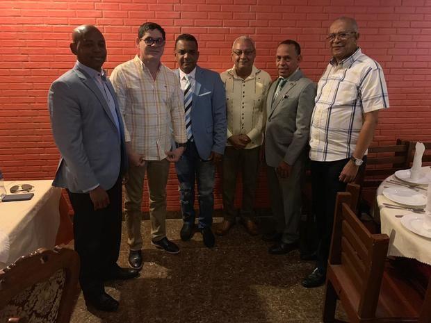 Precandidatos a alcalde por el PLD en Santo Domingo Oeste.