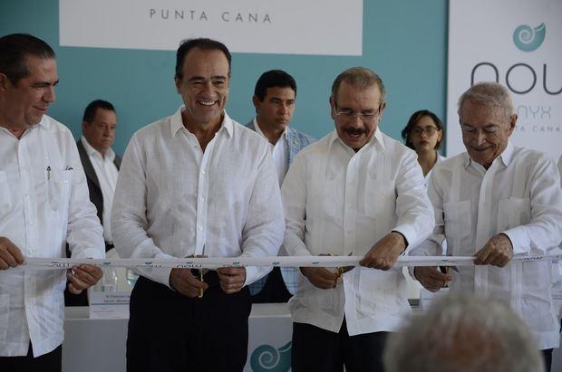 Presidente Danilo Medina inaugura ampliación Hotel Now Onyx