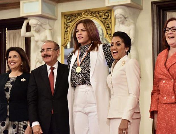 Priscila Rivera recibe Medalla al Mérito de la Mujer Dominicana 2020