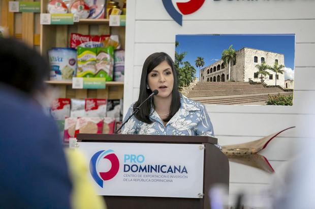 Biviana Riveiro Disla, Directora Ejecutiva de ProDominicana.