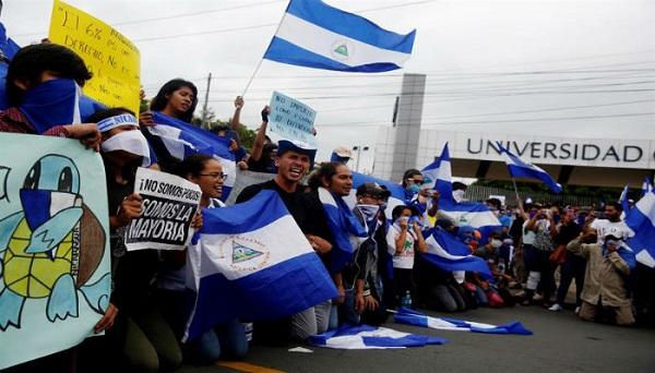 Nicaragua cierra sus puertas al grupo de la OEA y la oposición sigue en las calles
