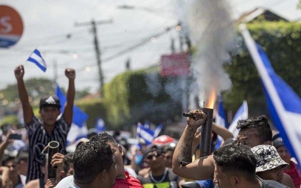 Protestas recientes en Nicaragua