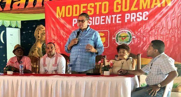 Modesto Guzmán dice aspirantes a dirigir PRSC quieren ganar sin acercarse a dirigentes