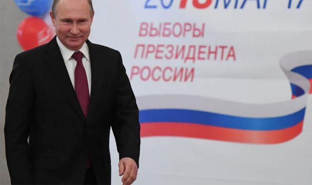 Putin obtiene el 71,97 % de los votos, según primeros resultados oficiales