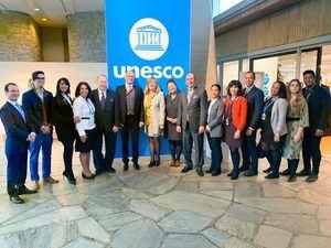RD fue electa a unanimidad, presidenta del grupo preparatorio del Consejo Ejecutivo de la Organización de las Naciones Unidas, para la Unesco, con sede en París.