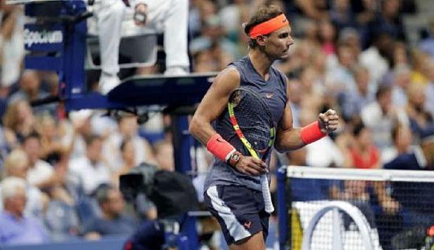 Rafael Nadal avanza sin problemas a segunda ronda en el US Open