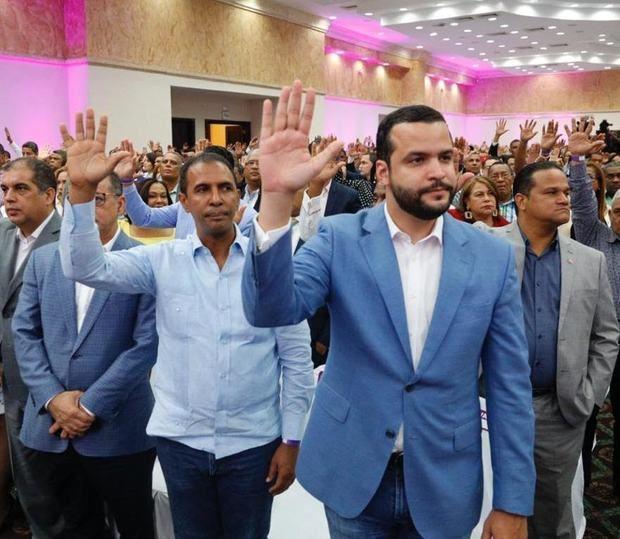PLD proclama a Rafael Paz como candidato a senador del Distrito