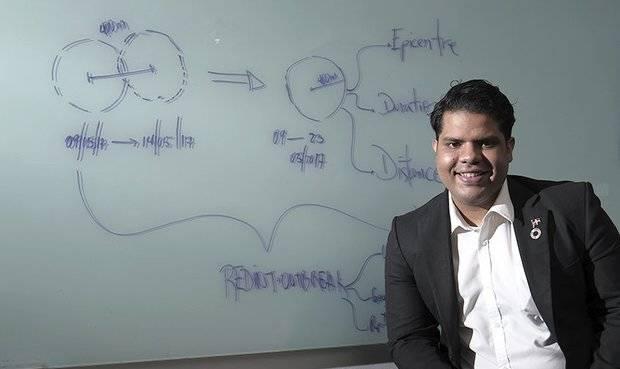 Joven dominicano elegido entre Innovadores menor de 35 - 2017 por revista del MIT