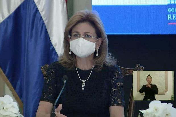 Vicepresidenta del país, Raquel Peña.