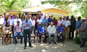 Reunión de Reinaldo en San Pedro de Macorís.