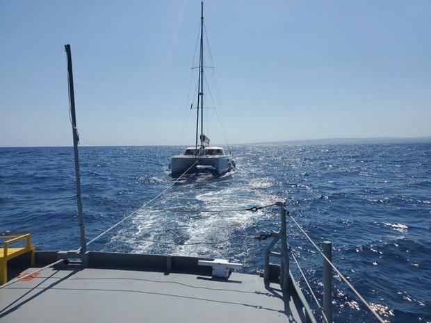 La Armada rescata embarcaciones en Puerto Plata y Pedernales