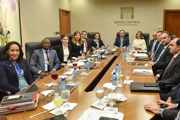 Reunión cierre BCRD-FMI