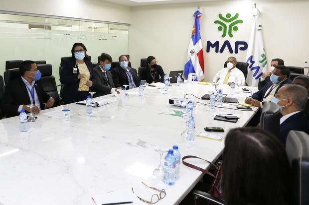 MAP afirma instituciones públicas estarán interconectadas