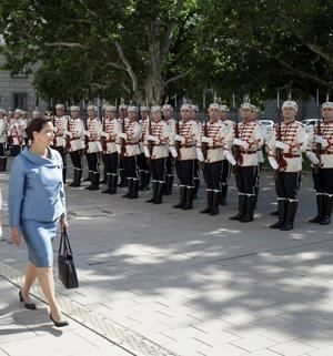 Revisión tropas búlgaras.