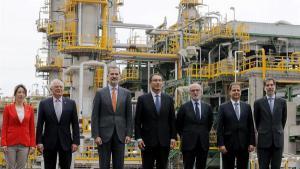El Rey de España en su visita a Perú
