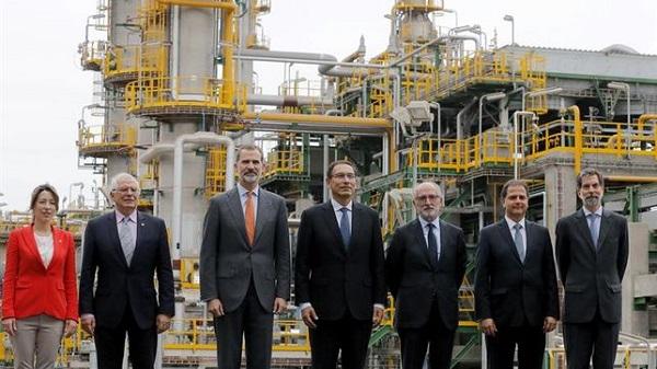 El Rey avala en Perú la apuesta española por combustibles menos contaminantes
