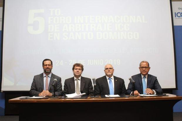 Manuel Luna, Ricardo Koenig, Samuel Arias y Marcos Peña.