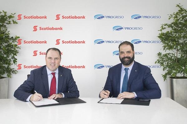 Scotiabank formaliza acuerdo para adquirir el Banco Dominicano del Progreso