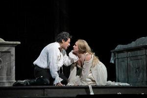 Gounod's Roméo et Juliette Un par de artistas carismáticos, el tenor Vittorio Grigolo y la soprano Diana Damrau.