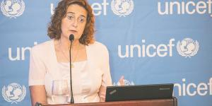 Rosa Elcarte representante de UNICEF en República Dominicana